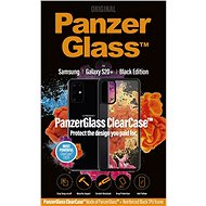 PanzerGlass ClearCase for Samsung Galaxy S20+, Black Edition - Mobile Case