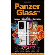 PanzerGlass ClearCase for Samsung Galaxy S20 Ultra, Black Edition - Mobile Case