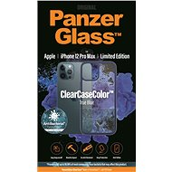PanzerGlass ClearCase Antibacterial for Apple iPhone 12 Pro Max (Blue - True Blue) - Mobile Case