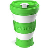 POKITO Collapsible Coffee Cup, 3-in-1, Lime - Mug