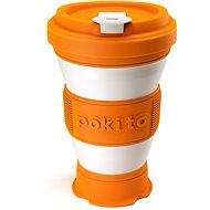 POKITO Collapsible Coffee Cup, 3-in-1, Pumpkin - Mug