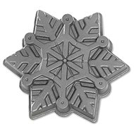 NW SnowflakeBaking Mould, 5 Cup, Silver - Baking Mould