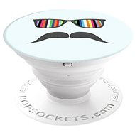 PopSocket Mustache Rainbow - Holder