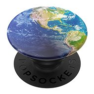 Mobile Phone Holder PopSockets PopGrip Gen.2, Put a Spin On It, Globe from Space - Držák na mobilní telefon