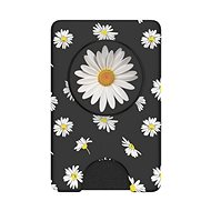 PopSockets PopWallet + White Daisy - Mobile Phone Holder