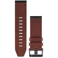 Garmin QuickFit 26 brown leather - Watch band