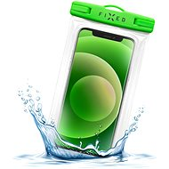 FIXED Float Edge with Lock System and IPX8 Certification Lime - Mobile Phone Case
