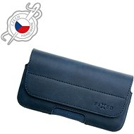 FIXED Genuine Cowhide Leather Horizontal Size 4XL+ Blue - Mobile Phone Case