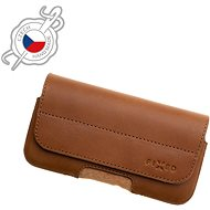 FIXED Genuine Cowhide Leather Horizontal Size 4XL+ Brown - Mobile Phone Case