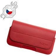 FIXED Genuine Cowhide Leather Horizontal Size 6XL Red - Mobile Phone Case
