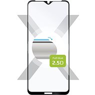 FIXED FullGlue-Cover for Nokia 2.4 Black - Glass protector