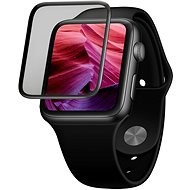 FIXED 3D Full-Cover with Applicator for Apple Watch 40mm Black - Glass Protector