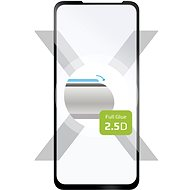 FIXED FullGlue-Cover for Nokia XR20, Black - Glass Protector