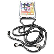 Cellularline Neck-Case with Black Strap for Apple iPhone 6/7/8 - Mobile Case