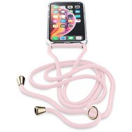 Cellularline Neck-Case with Pink Lanyard for Apple iPhone X/XS