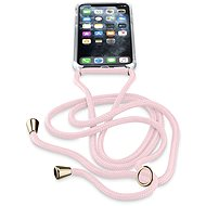 Cellularline Neck-Case with Pink Strap for Apple iPhone 11 Pro Max - Mobile Case