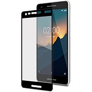 CELLY Full Glass for Nokia 2.1 black - Glass protector