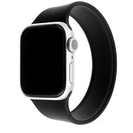 FIXED Elastic Silicone Strap for Apple Watch 38/40mm size S Black - Watch Band