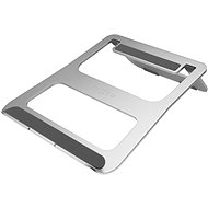 FIXED Frame Book for Tables for Laptops, Silver