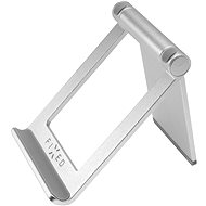 FIXED Frame Tab on Table for Mobile Phones and Tablets Silver