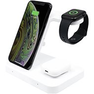 FIXED Powerstation for 3 Devices White - Wireless Charger