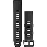 Garmin QuickFit 22 Silicone, Black - Watch band