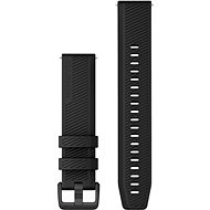 Garmin Quick Release 20 Silicone Black (Dark Buckle)