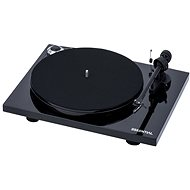 Pro-Ject Essential III + OM10 Piano black - Turntable