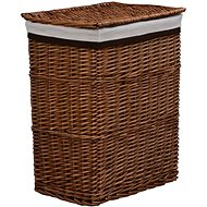 Laundry basket brown willow 286979 - Laundry Basket