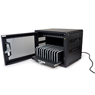 PORT CONNECT CHARGING CABINET 10 UNITS, Black - Stand