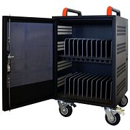 PORT CONNECT CHARGING CABINET, 20 Laptops, Black - Rechargeable Storage