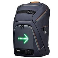 "PORT DESIGNS GO LED 15.6"" grey/brown - Laptop Backpack"