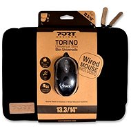 "PORT DESIGNS TORINO 13,3 / 14 ""notebook + WB MOUSE black"