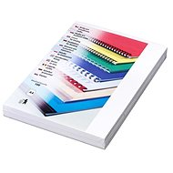 EUROSUPPLIES Delta Leatherboard A4 White - Binding Cover