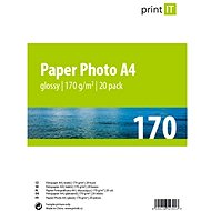 PRINT IT Paper Photo A4 170g/m2 Glossy 20pcs