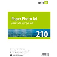 PRINT IT Paper Photo A4 210 g/m2 glossy 20pcs