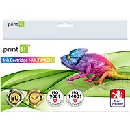 PRINT IT Multipack PGI-520 + CLI 521-2xBk/PBK/C/M/Y Multipack for Canon Printers - Compatible Ink