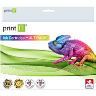 PRINT IT LC223 2xBk/C/M/Y Multipack for Brother Printers - Alternative Ink