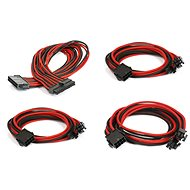Phanteks Extension Cable Set - Black/Red