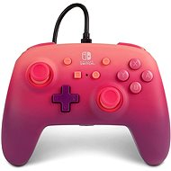 PowerA Enhanced Wired Controller - Fuchsia Fantasy - Nintendo Switch