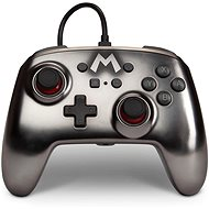 PowerA Enhanced Wired Controller - Mario Metallic - Nintendo Switch