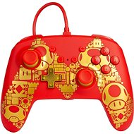 PowerA Enhanced Wired Controller - Golden Mario - Nintendo Switch