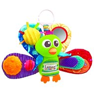 Lamaze - Peacock Emil green - Baby Rattle