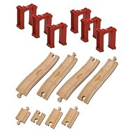 Chuggington Wooden Elevated Tracks - Rail set accessory