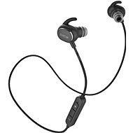 QCY QY19 Phantom Black - Headphones with Mic