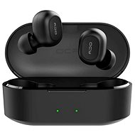 QCY T2C BassFix, Black - Wireless Headphones