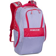 "RIVA CASE 5265 17.3"" Grey/Red - Laptop Backpack"