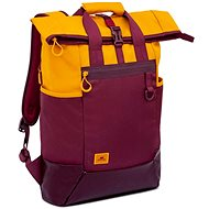"RIVA CASE 5321 15.6"" Yellow/Burgundy Red - Laptop Backpack"
