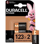 Duracell Ultra CR123A 2 pack - Disposable Battery