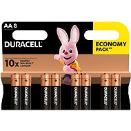Duracell Basic AA 8pcs - Disposable batteries